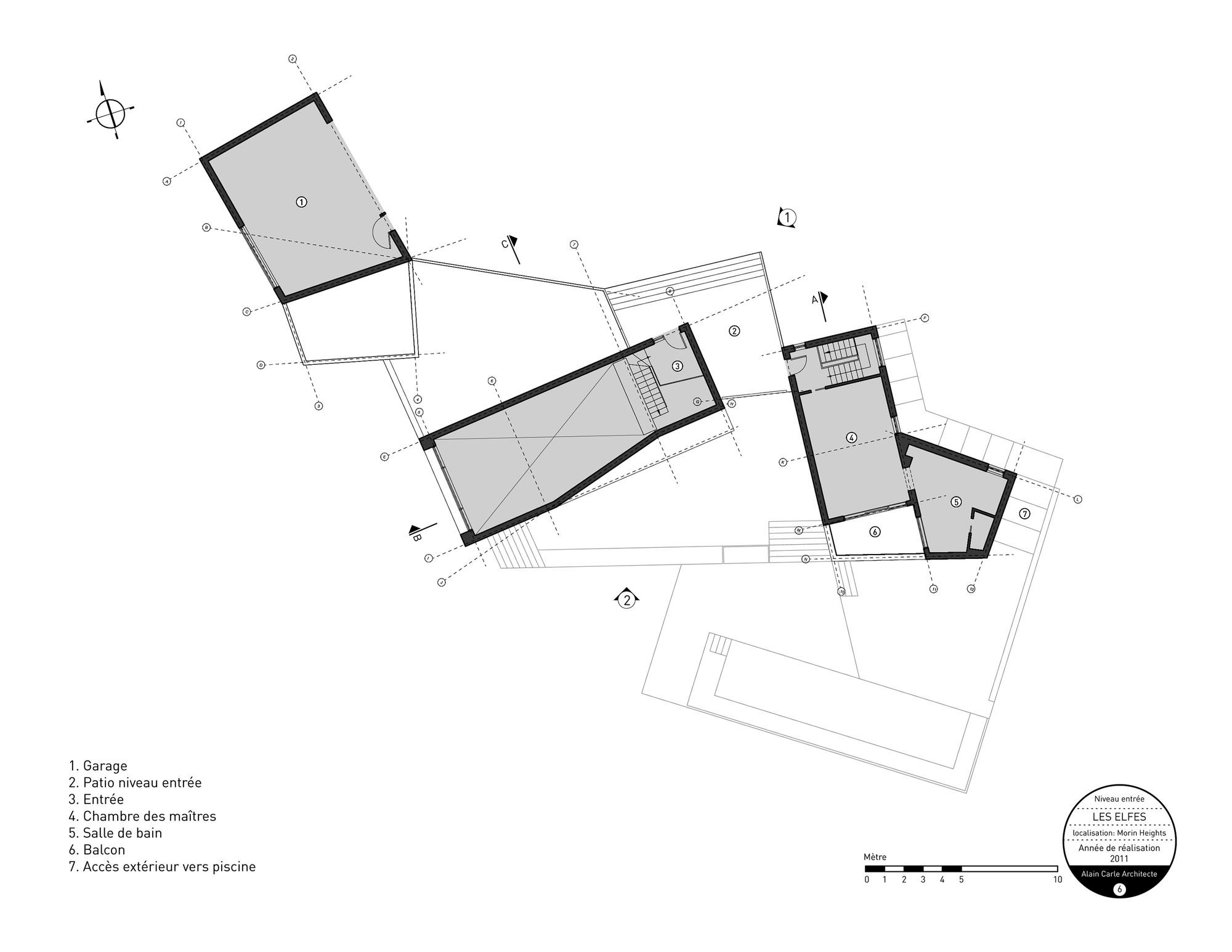 Gallery of les elfes alain carle architecte 13 for Plan architecte