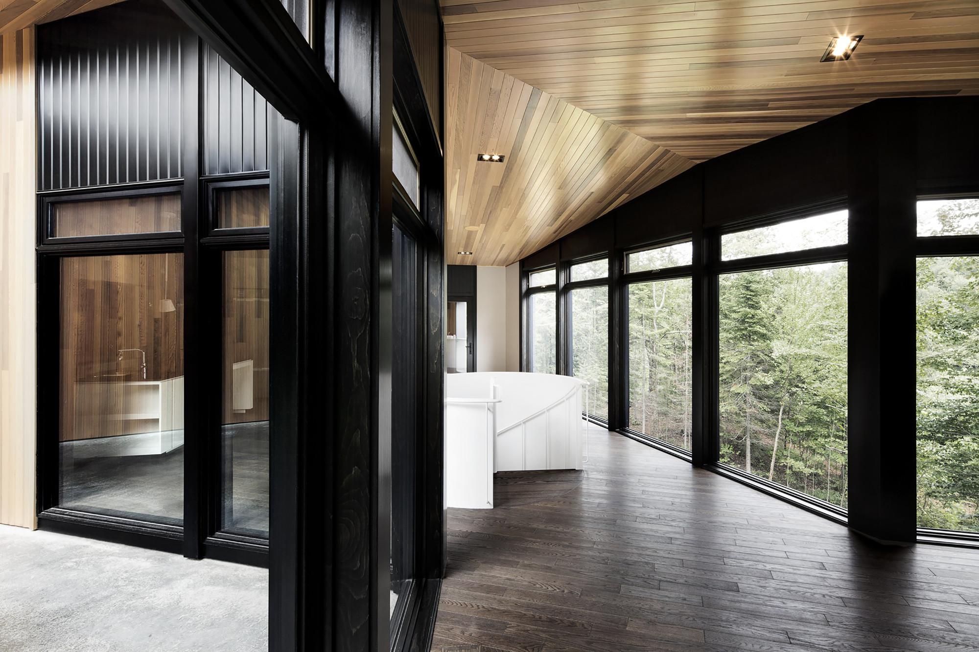 Gallery of screen house alain carle architecte 3 for Alain elie architecte