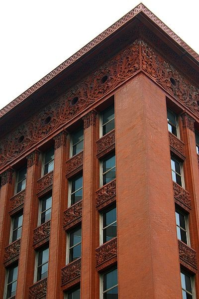 The Wainwright Building in St Louis, Missouri. Image © <a href='https://commons.wikimedia.org/wiki/File:2010-07-04_1880x2820_stlouis_wainwright_building.jpg'>J. Crocker</a>
