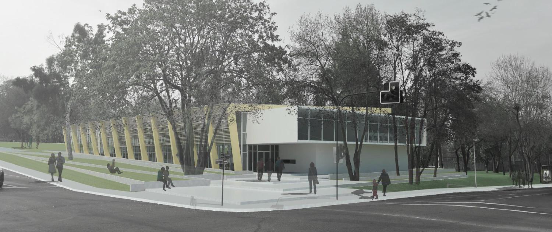 El Alba: Segundo Lugar. Image Courtesy of Municipalidad Las Condes