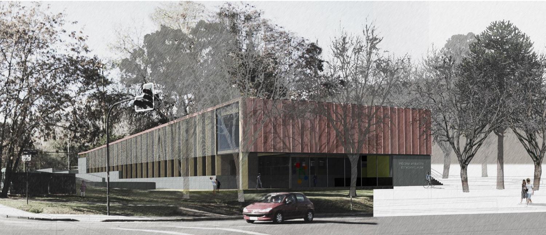 El Alba: Tercer Lugar. Image Courtesy of Municipalidad Las Condes