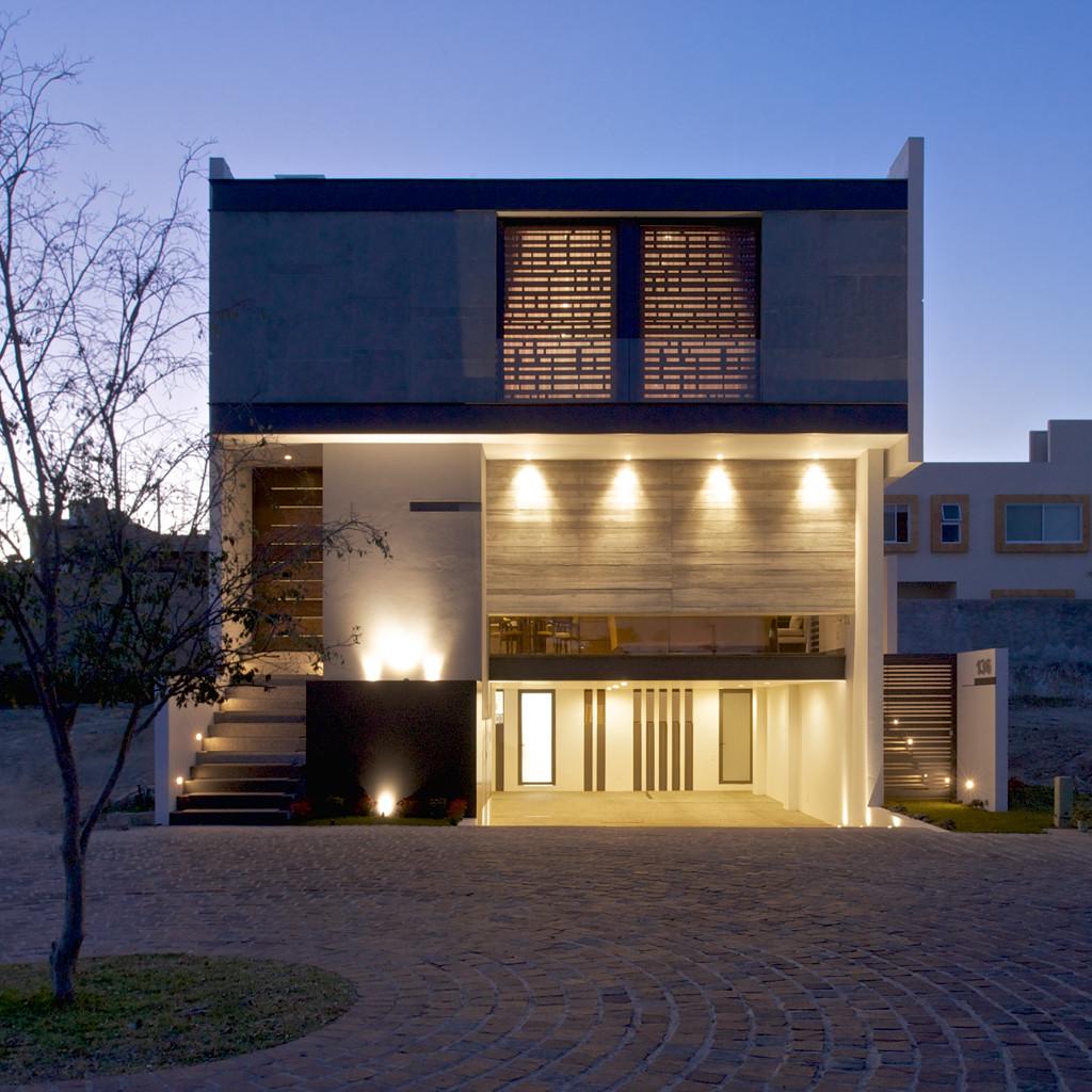 Casa zenit agraz arquitectos sc archdaily brasil - Arquitectos casas modernas ...
