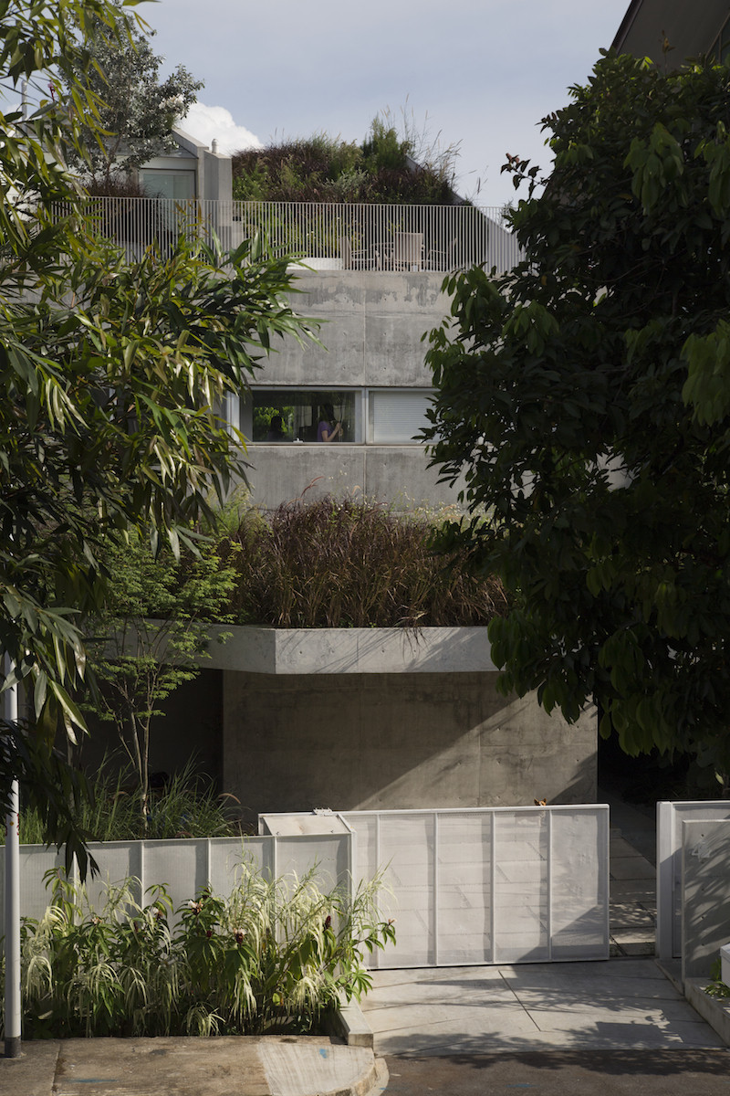 Gallery of terrace house formwerkz architects 7 for Terrace of house