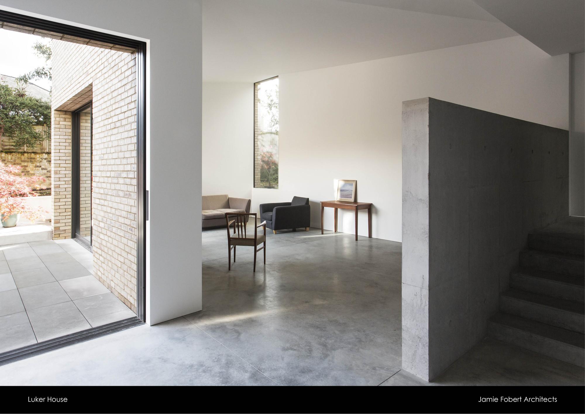 Luker House / Jamie Fobart Architects. Image © Oliver Hess