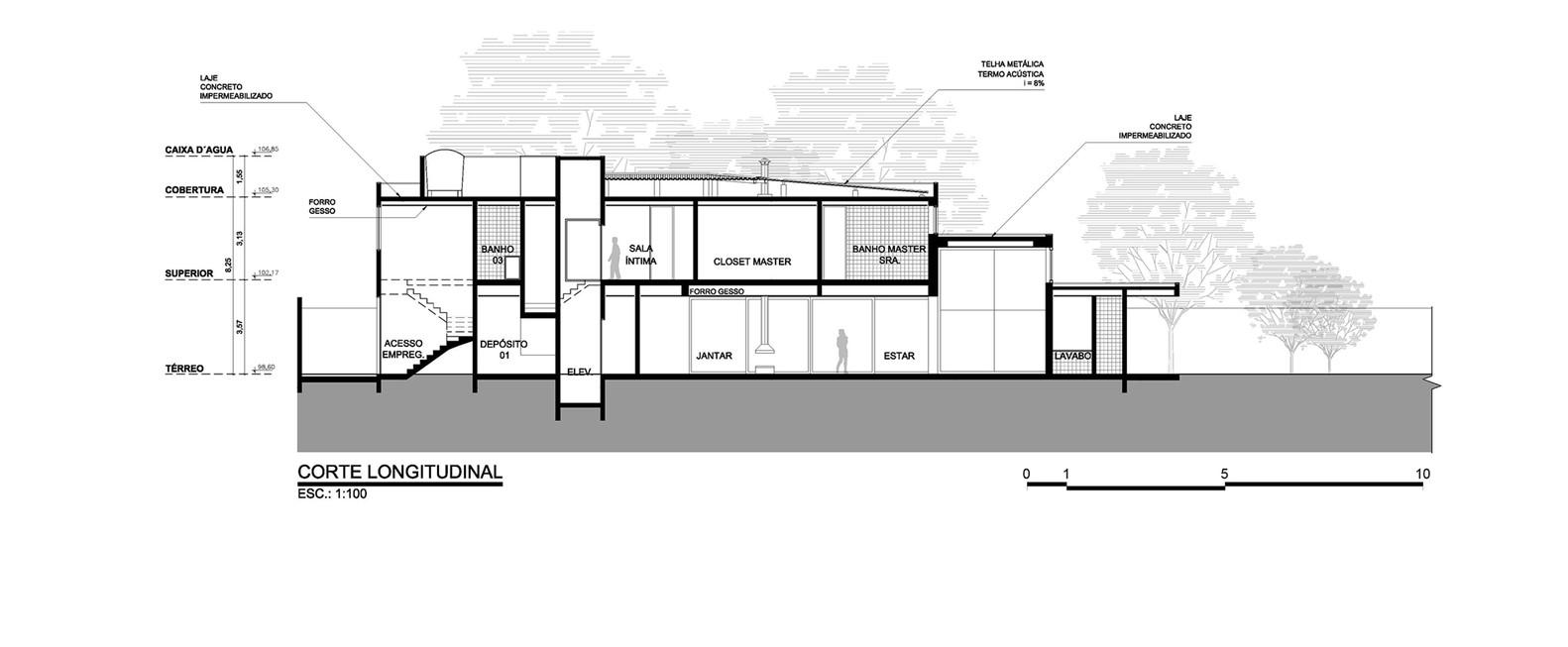 Morumbi Residence,Section