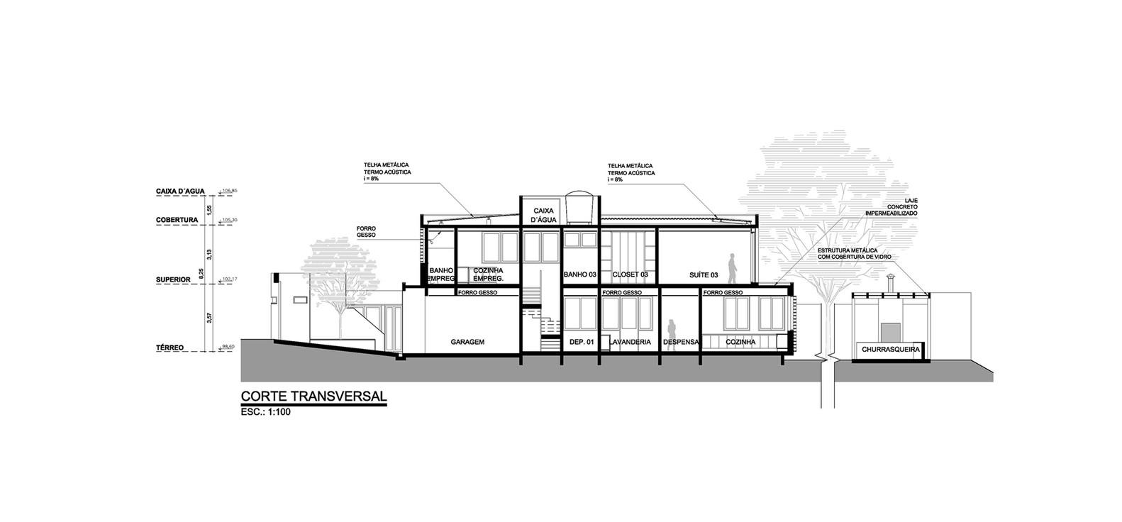 Elegant Morumbi Residence,Section