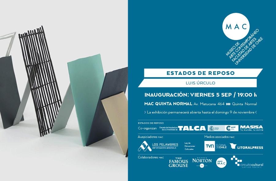 Luis Úrculo, Estados de Reposo / Talca y Santiago, Chile