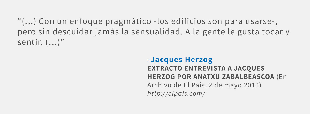 Frases: Jacques Herzog