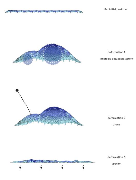 Simulación. Image Cortesia de © IaaC (Instituto de Aquitectura Avanzada de Catalunya) / Ece Tankal, Efilena Baseta, Ramin Shambayati
