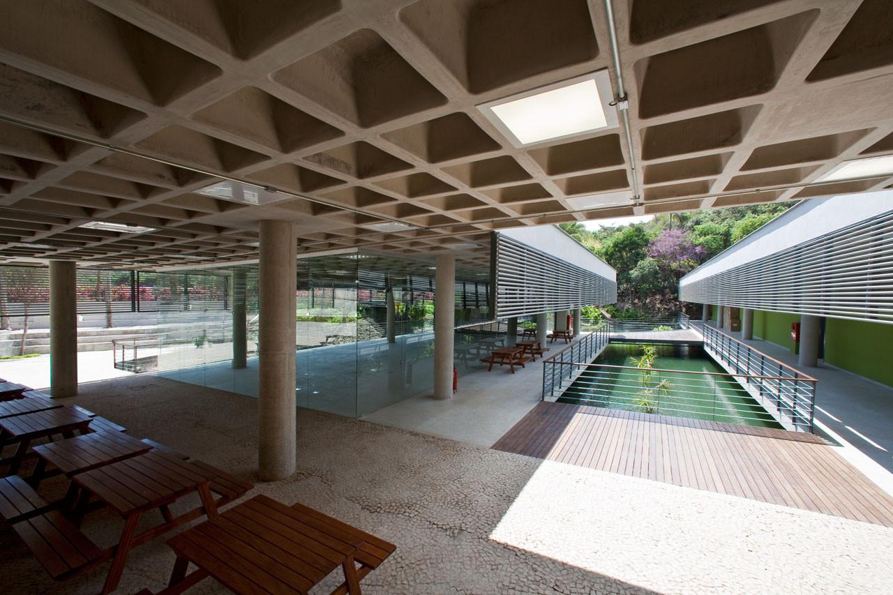 Centro Educativo Burle Marx. © Daniel Mansur