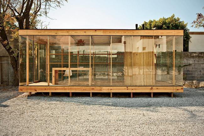 Casa de madera s ar stacion arquitectura archdaily m xico - Estructura casa madera ...