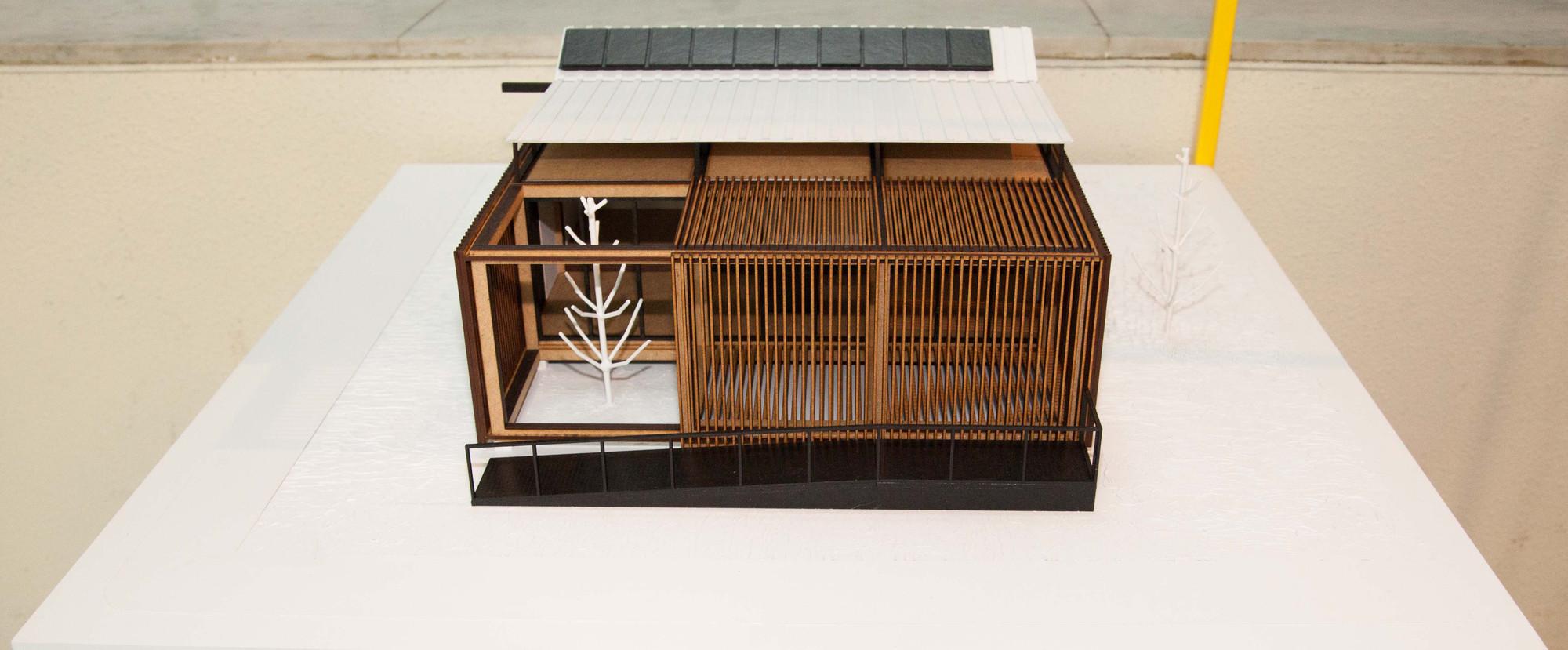Casa VIDA. Universidad del Bio- Bio. Image Cortesia de Construye Solar