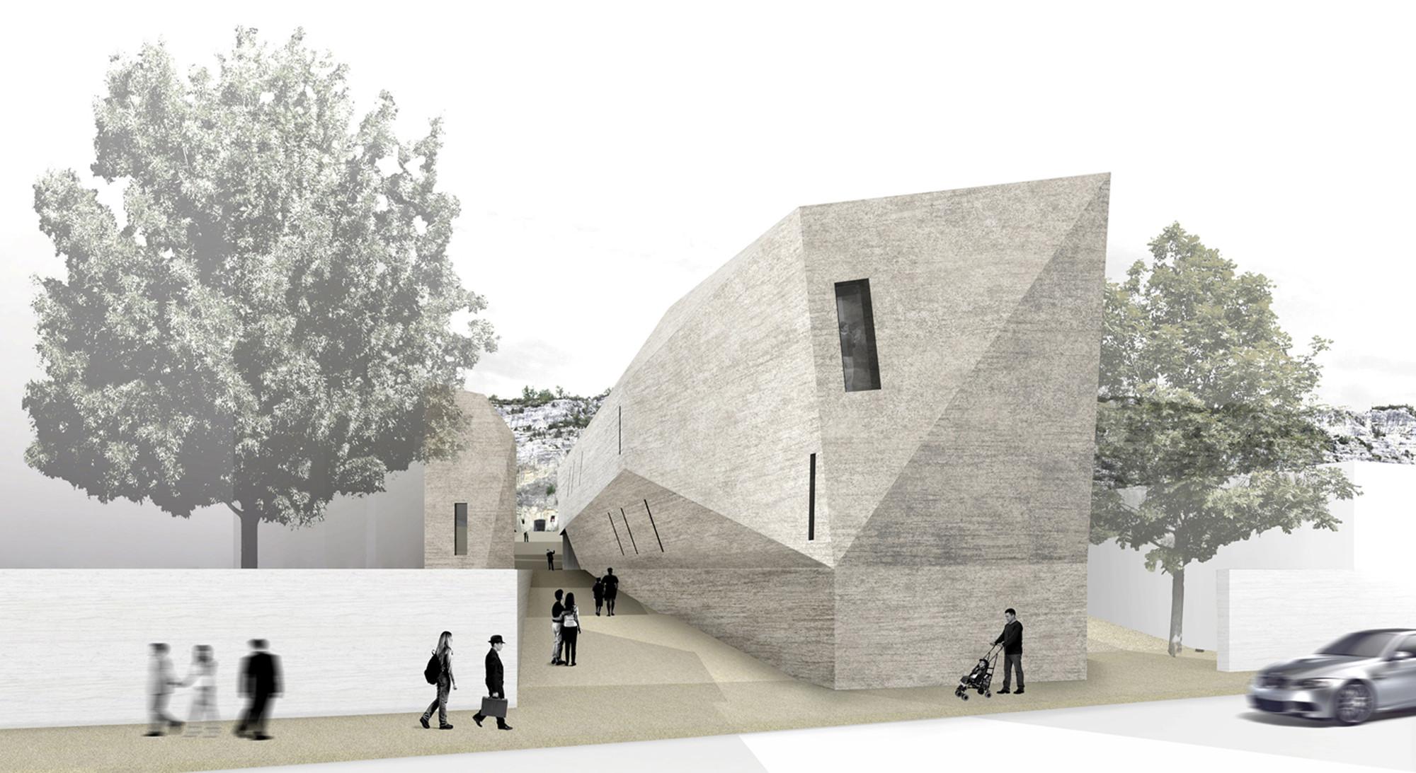Primer Lugar en concurso de ampliación Galleria Comunale d'Arte / Cagliari, Italia, Courtesy of Giovanni Battista Oliva