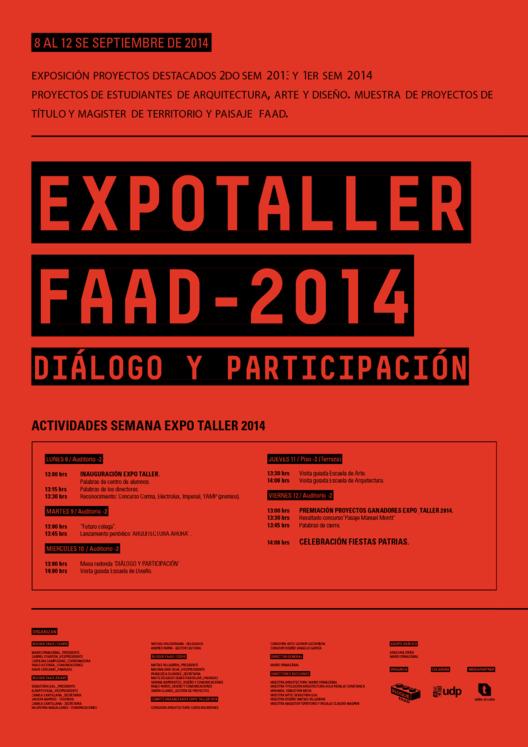 Expo Taller UDP 2014: Diálogo y participación / Santiago