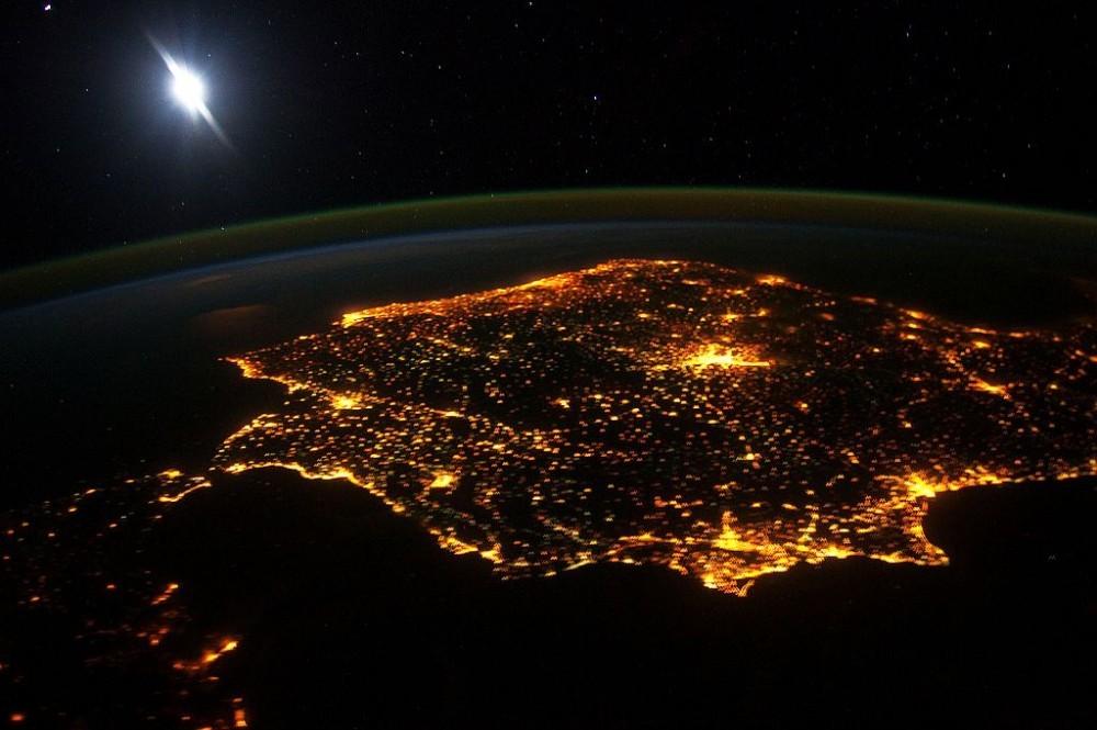 España y Portugal, Península Ibérica