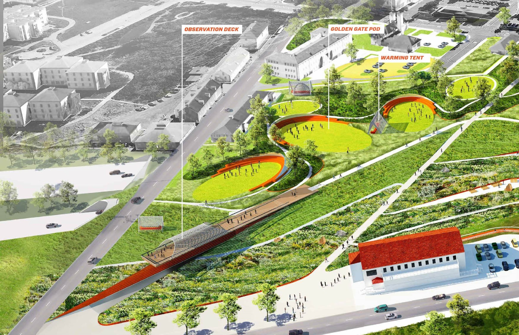 gallery of five proposals unveiled for presidio parklands