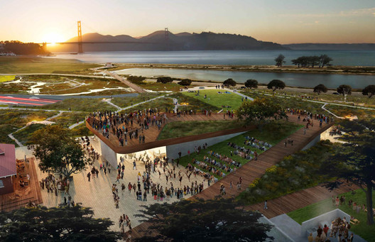 The Observation Post / CMG Landscape Architecture. Image © CMG Landscape Architecture Courtesy of the Presidio Trust