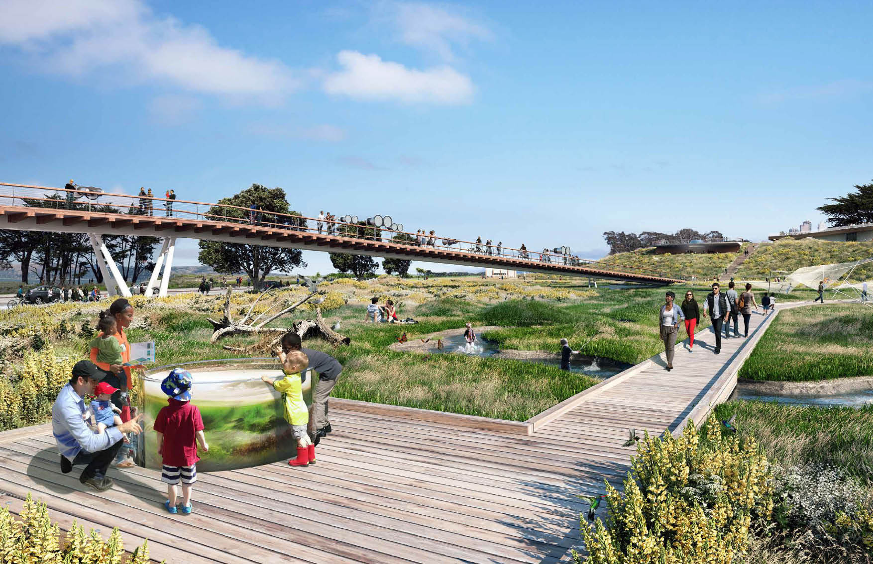 Gallery of five proposals unveiled for presidio parklands for San francisco landscape architecture