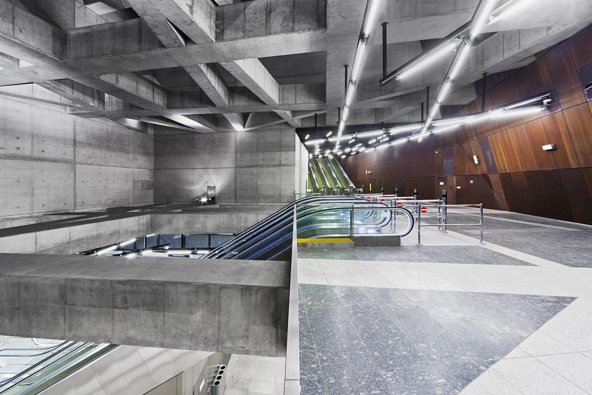 Estación Gellert. Imágen © Tamás Bujnovszky