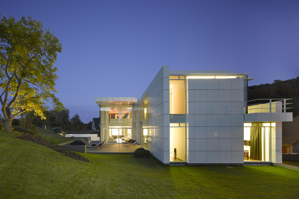 luxembourg house richard meier partners archdaily