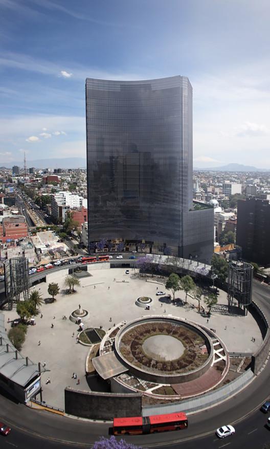 En Construcción: Torre Glorieta  / Sholem Cimet y Yoram Cimet, Render / Cortesía Sholem Cimet y Yoram Cimet
