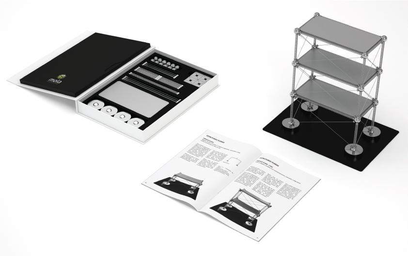 Mola Kit Estructural: una nueva manera de aprender sobre estructuras, Mola Structural Kit - Imagen: Divulgação no Catarse