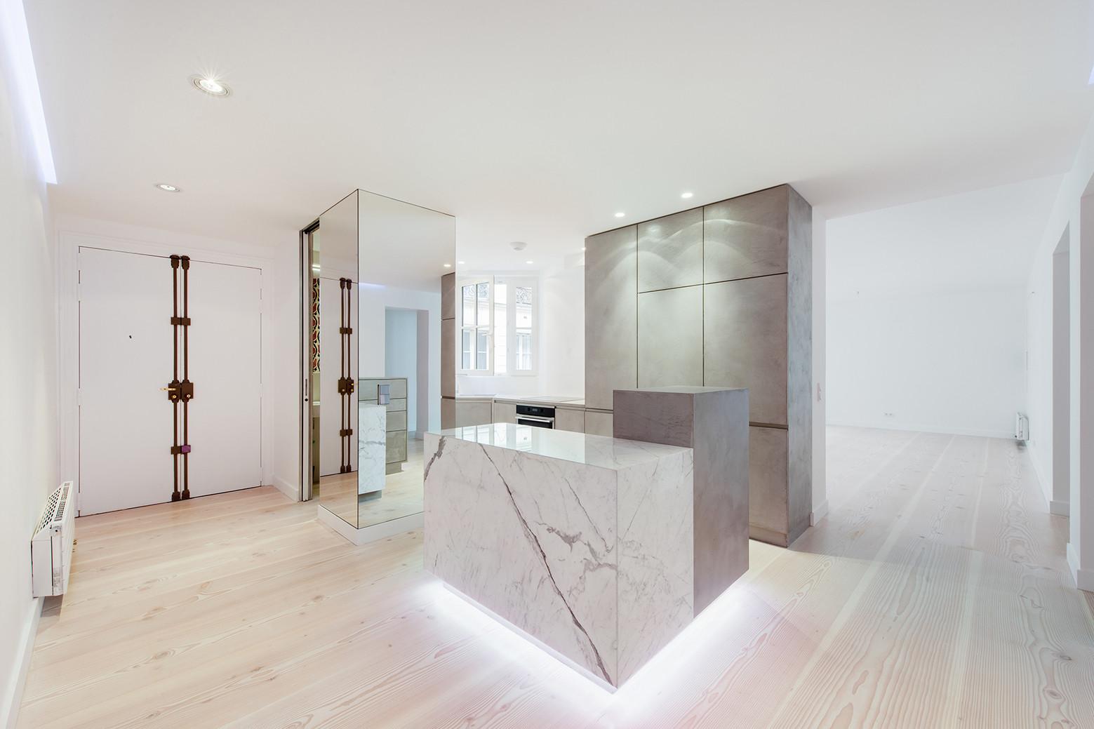Apartment in Rue de Lille / spamroom, © Martin Argyroglo