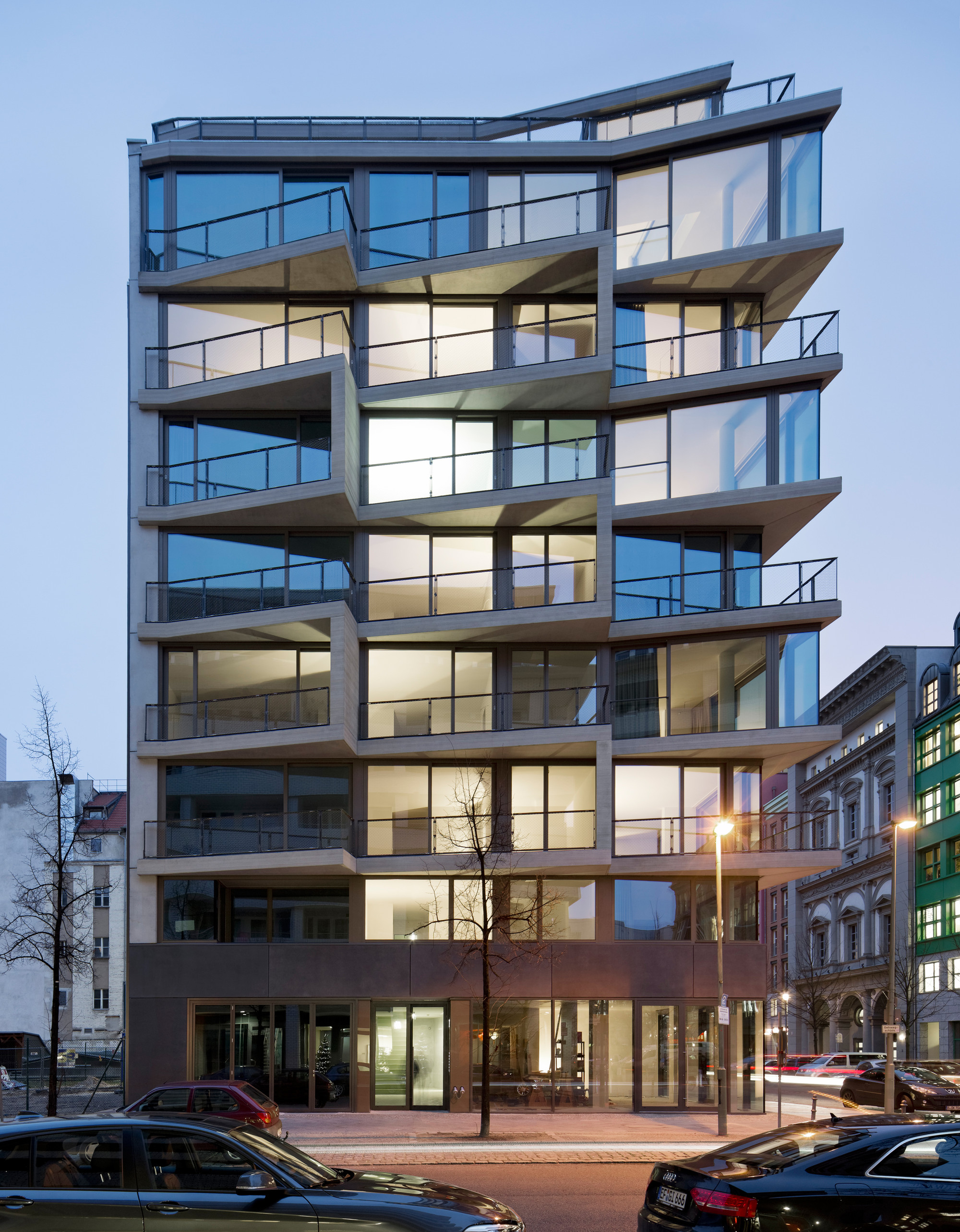 Apartments charlotte michels architekturb ro archdaily for Architectural concepts for apartments pdf