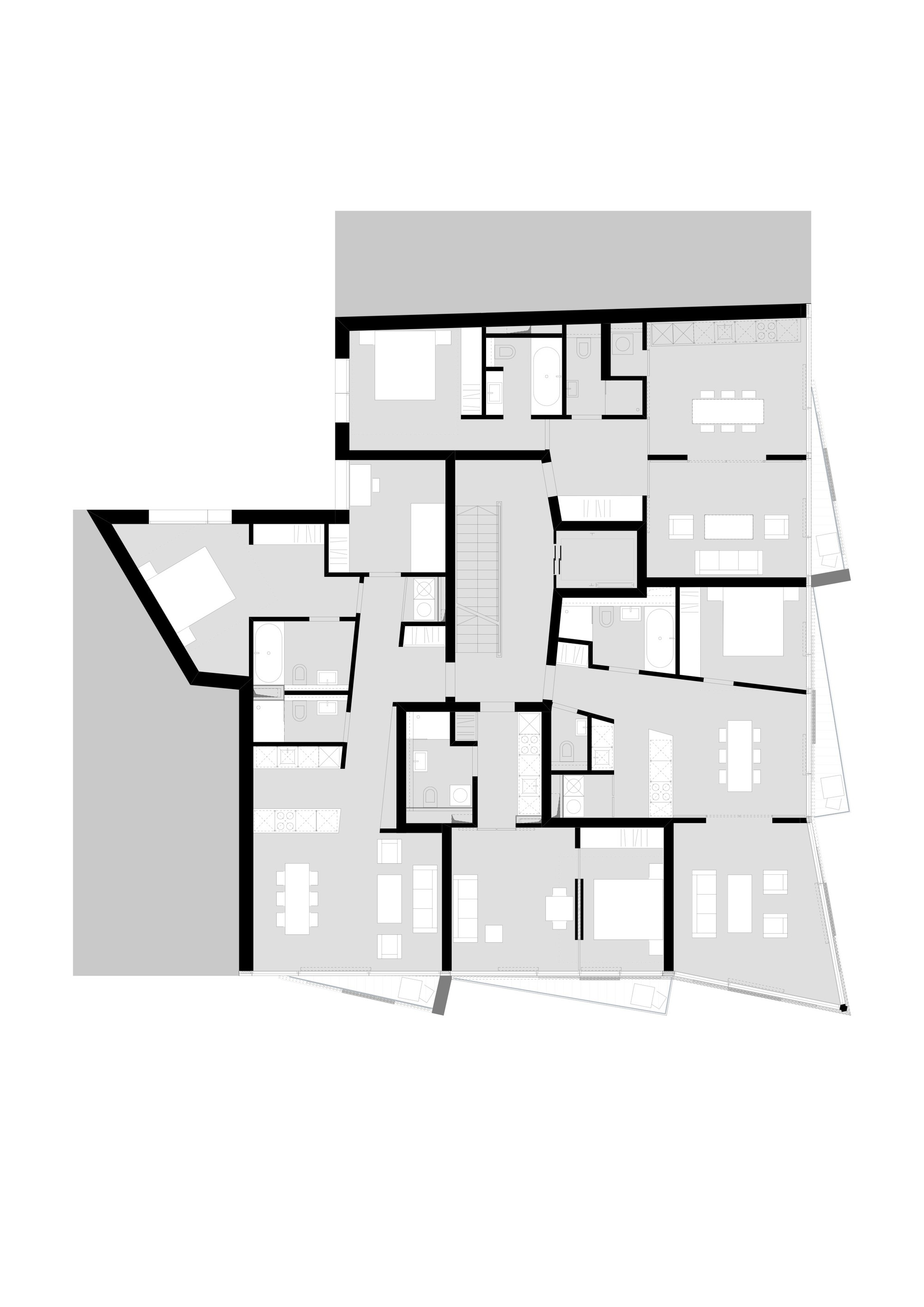 Gallery of apartments charlotte michels architekturb ro 12 for 12th floor apartments odessa