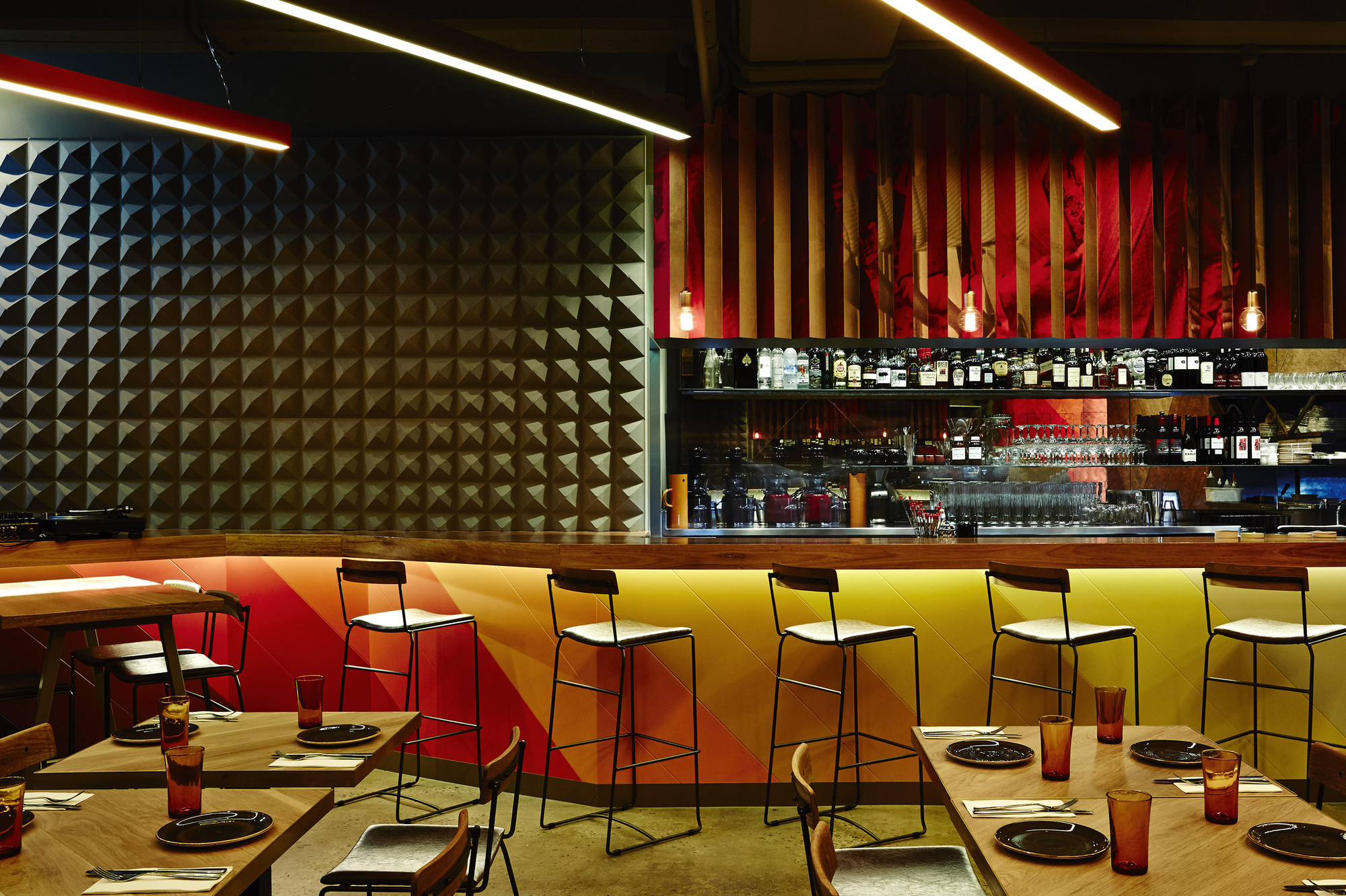 Gallery of mr big stuff techne architecture interior for American cuisine melbourne