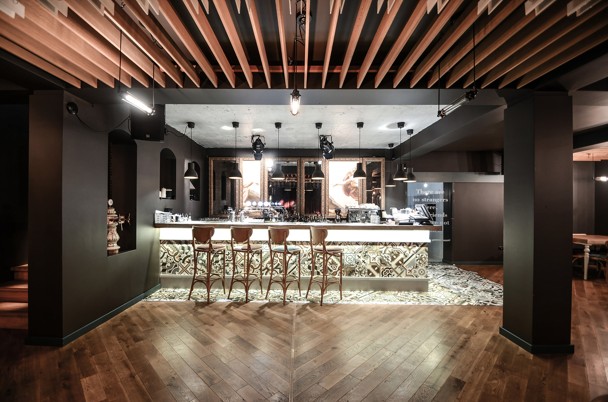 Restaurant in preaiba yellow office archdaily