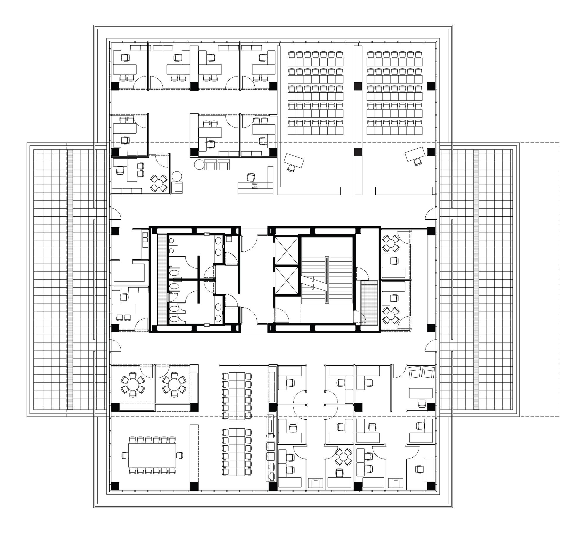 Villa Savoye Floor Plan Gallery Of Bioinnova Tatiana Bilbao 11