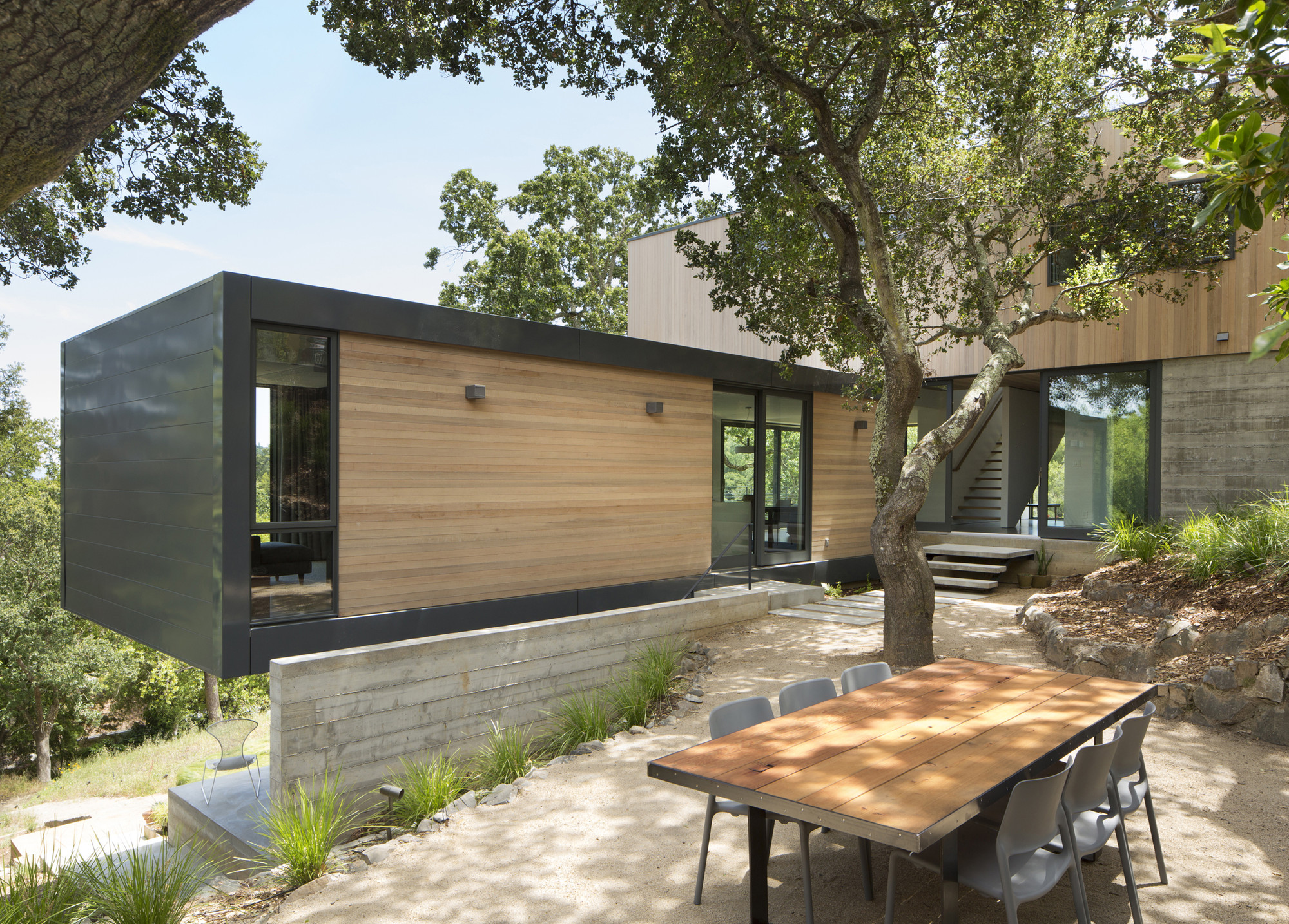 Gallery of hillside house shands studio 6 - Cheap container homes australia ...