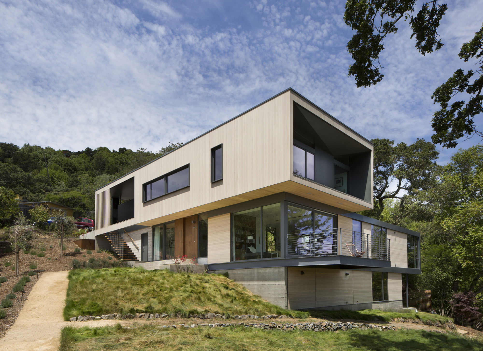 Hillside House / Shands Studio, © Paul Dyer Photography