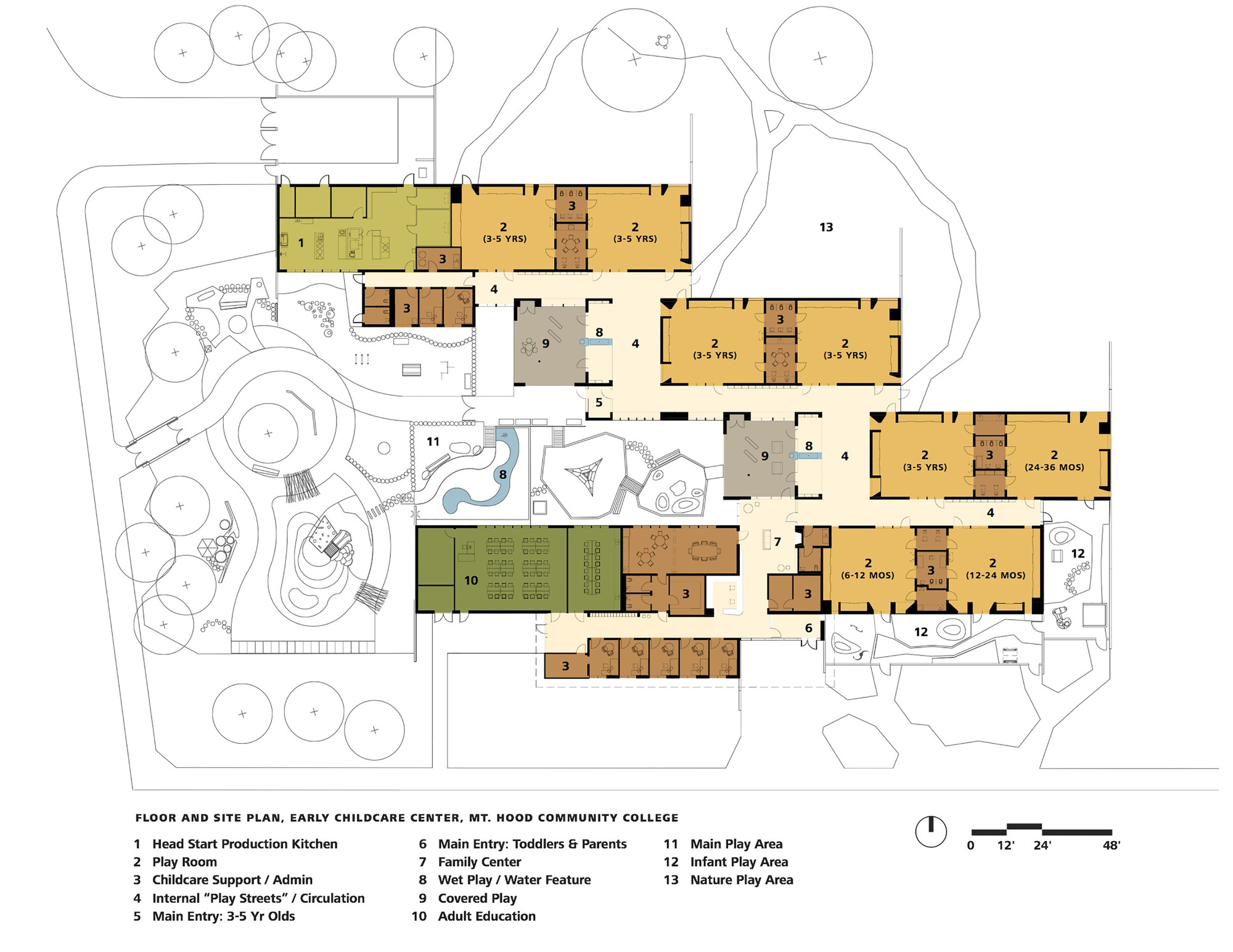 Gallery of mt hood community college early childhood for Floor plans lafayette college