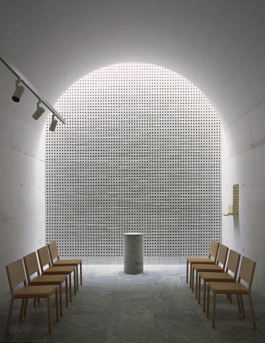 Nuevo crematorio en el cementerio woodland johan celsing for Plataforma arquitectura
