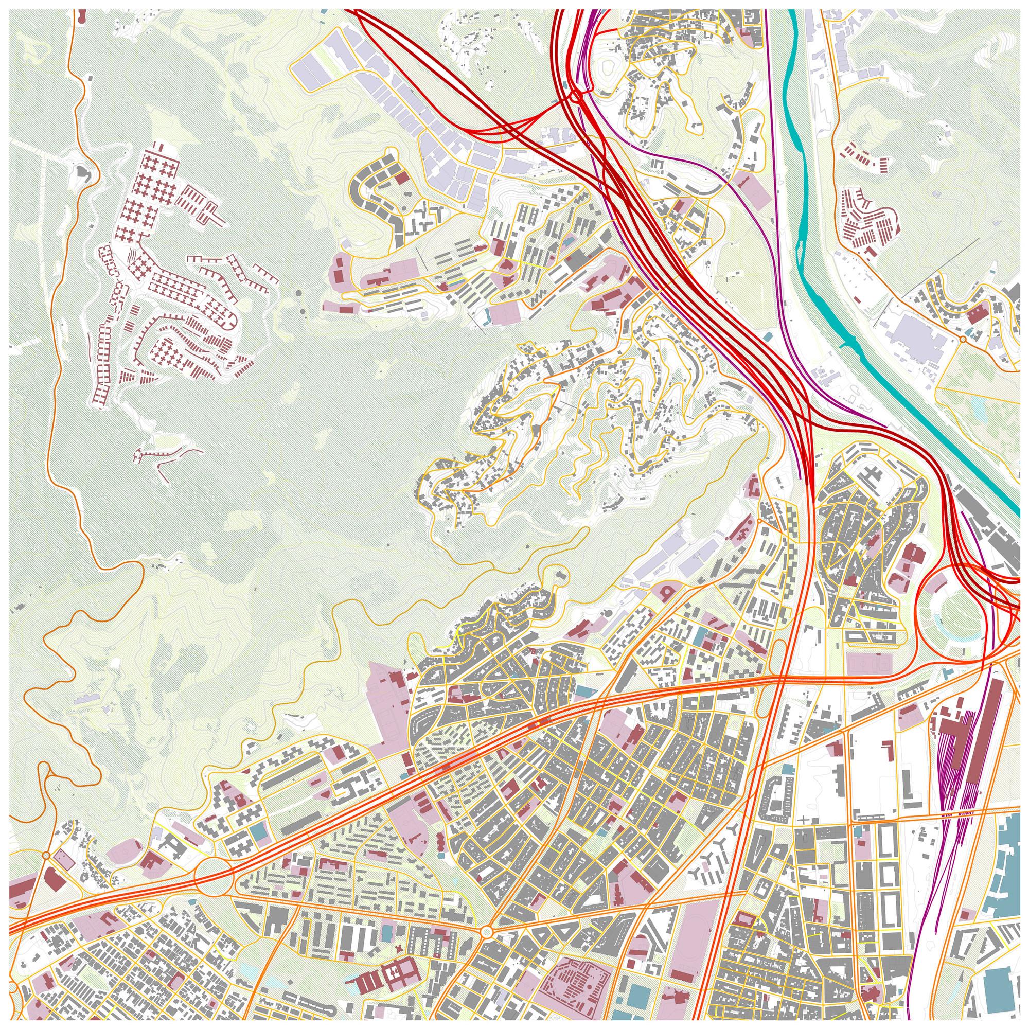 Análisis urbanístico. Image Cortesia de Miquel Pol Barceló