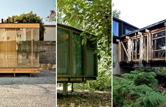 Casas estructura de madera archdaily per - Casas de estructura de madera ...