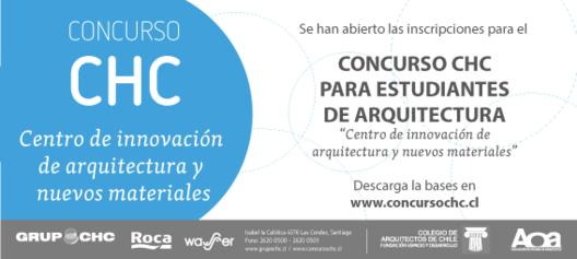 Concurso CHC para estudiantes de arquitectura / Chile