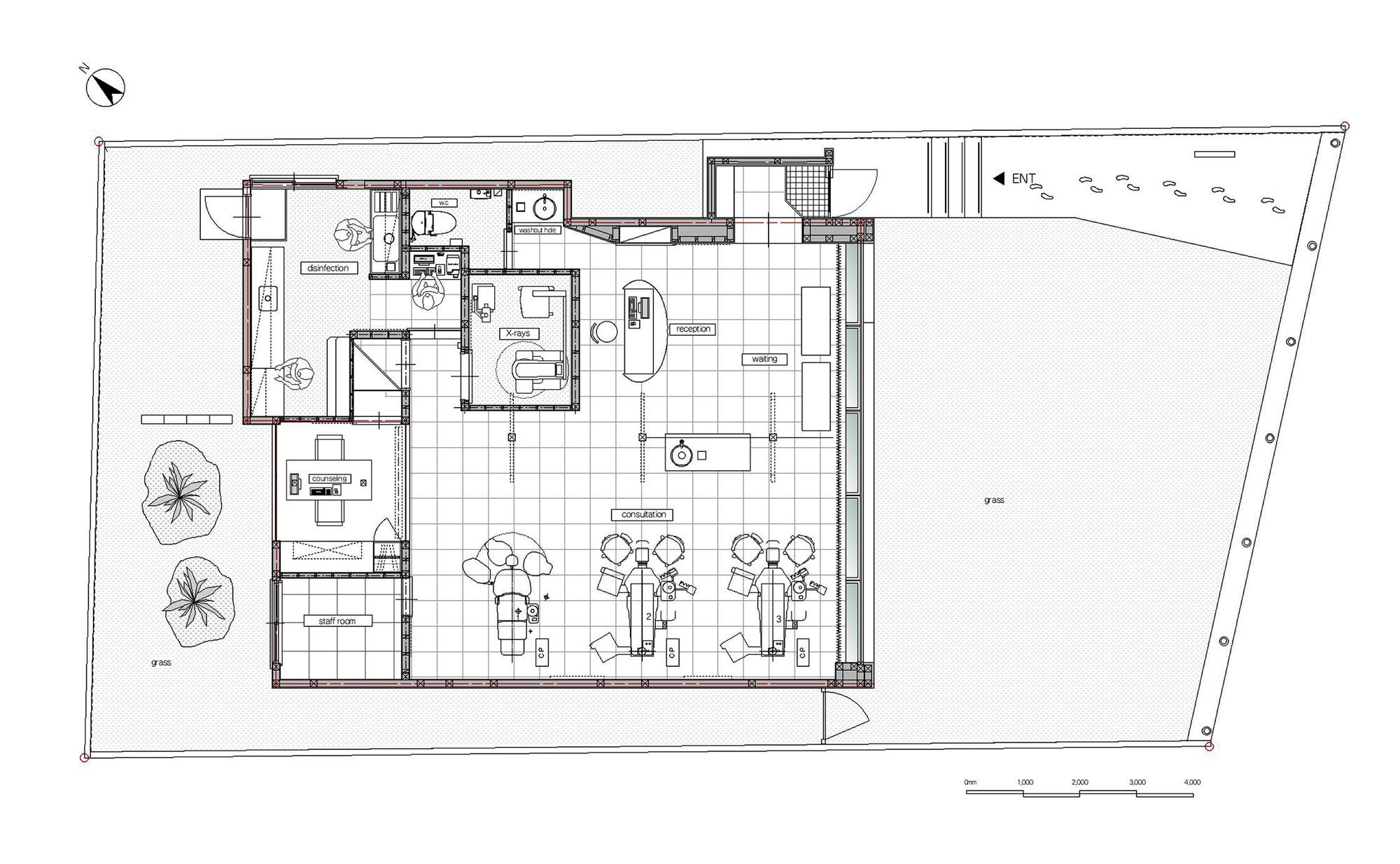 Gallery Of Hirose Dental Clinic Eleven Nine Inteiror Design Office 10
