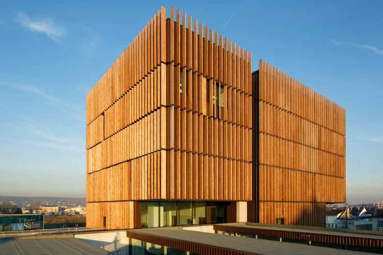 Centro Tecnológico Mantois / Badia Berger Architectes, © Takuji Shimmura