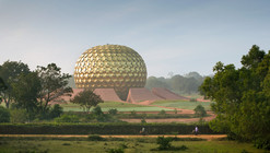 APA Awards: James Ewing's Matrimandir Photograph Places First for Architecture