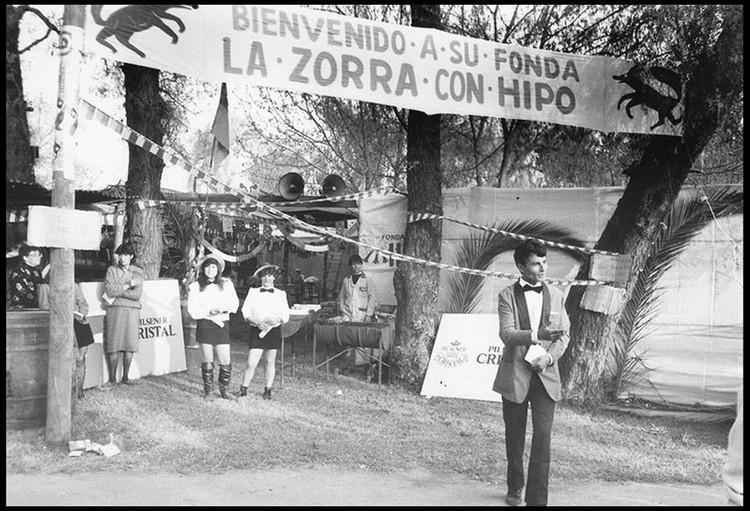 Fonda en el Parque O´Higgins de Santiago en 1990 (?). Image © Fan Page de 'Fotos históricas de Chile