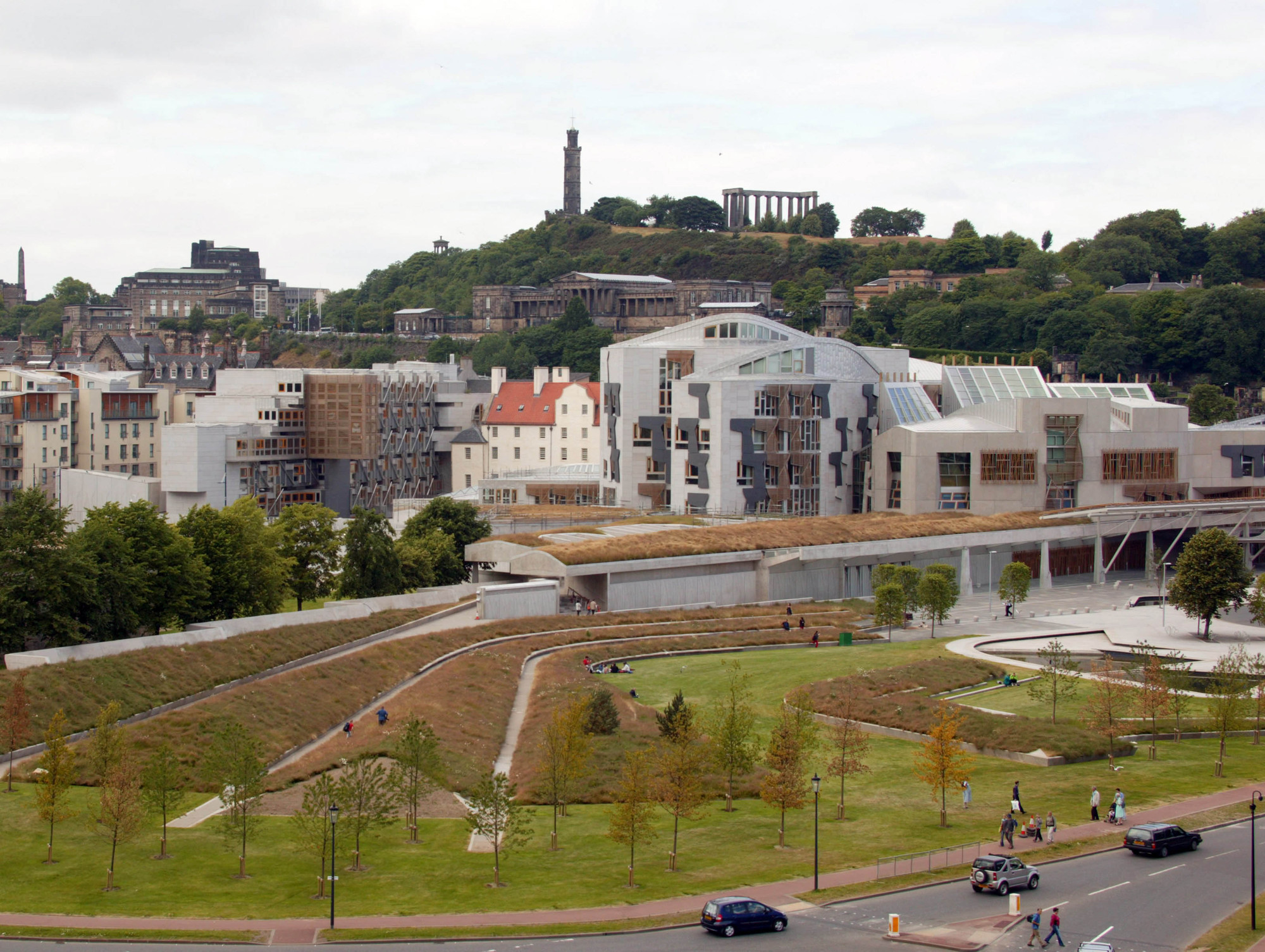 Gallery of ad classics scottish parliament building for Parliament site