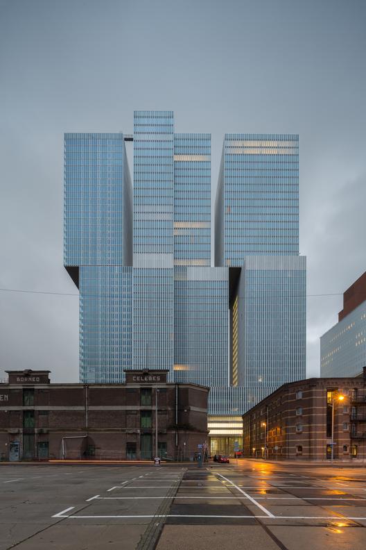 De Rotterdam, Rotterdam / OMA. Imágen © OMA, fotografo: Ossip van Duivenbode