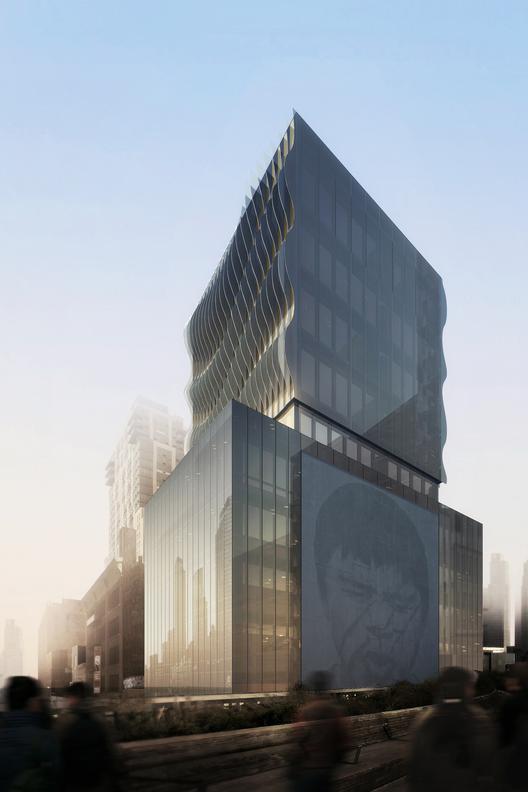 SCDA diseña torre de lujo contigua al High Line Nueva York, Cortesía de SCDA Architects