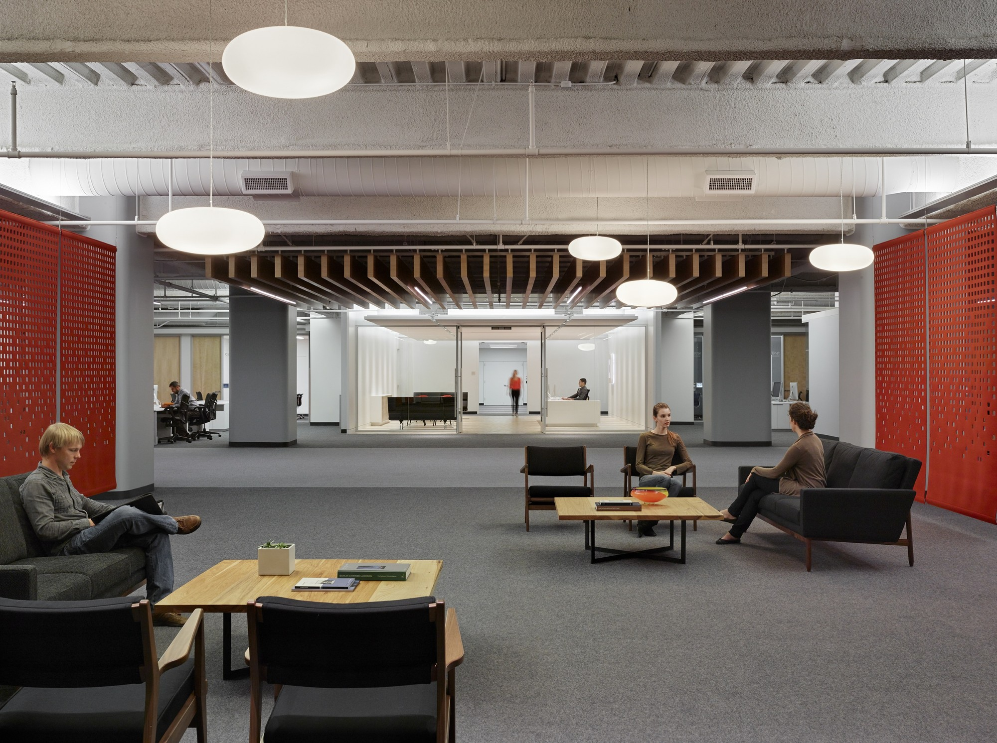 Gallery of square headquarters bohlin cywinski jackson 9 for Square office design