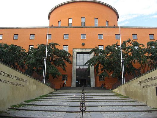 Stockholm Public Library / Gunnar Asplund. Image © Sam Teigen