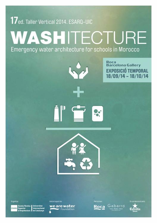 WASHITECTURE. Arquitectura de agua de emergencia para escuelas en Marruecos