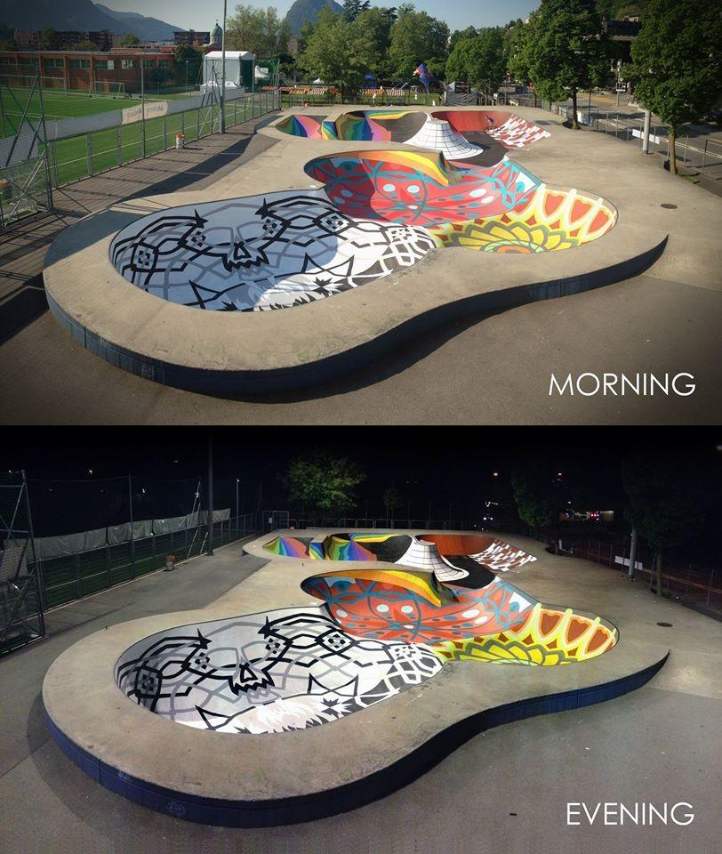 Galeria De Skatepark Sundial Uma Pista De Skate